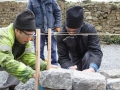 3 Dry Stone Wall Building