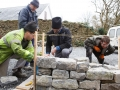 4 Dry Stone Wall Building