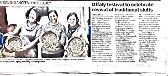 Weaving - An Offaly Nice Legacy